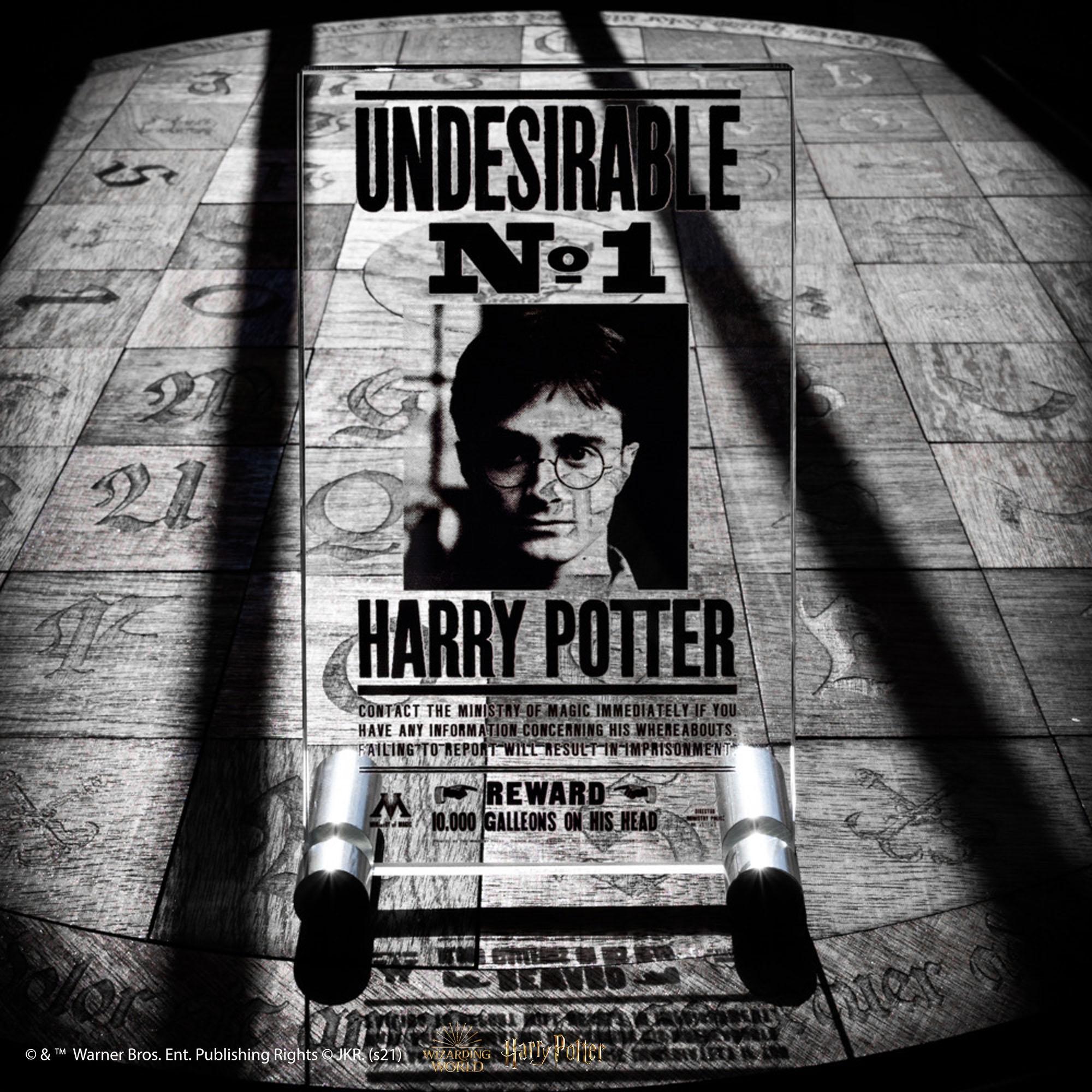 Plaque Récompense Harry Potter
