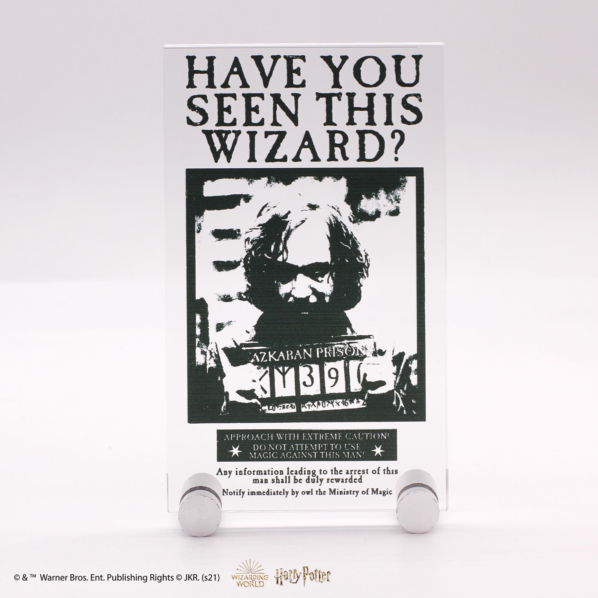 Plaque Récompense Sirius Black